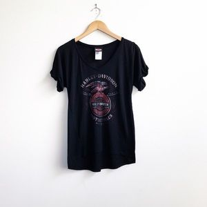 Harley-Davidson : Women's T-shirt Size Medium